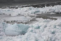 Remnants of the Ice Shove April 2018