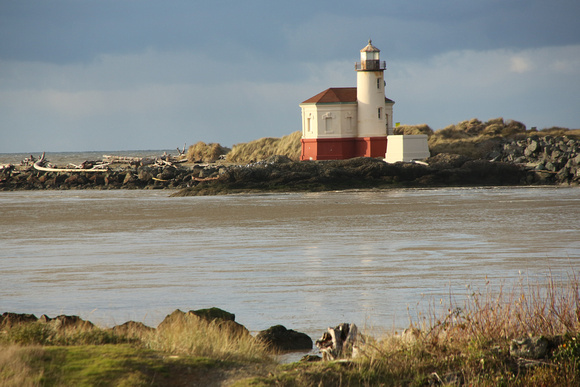 PAD Dec 15 Light on Coquille Lighthouse