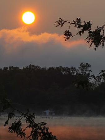 PAD August 26 Sunrise at Mindcamp Five